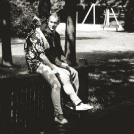 rande v parku